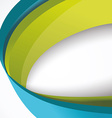 Abstract 3d technology circles backgound Eps 10 vector image