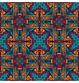 Abstract festive colorful ethnic pattern vector image vector image