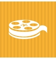 Film and movie icon design vector image vector image
