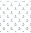 flower decoration pattern seamless vector image