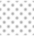 herbal flower pattern seamless vector image vector image