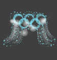 olympics abstract vector image
