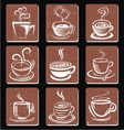 Abstract Coffee Cup vector image vector image