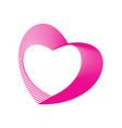 beauty love design vector image vector image
