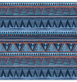 Ethnic boho seamless pattern Tribal art aztec vector image