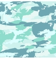 military camouflage pattern Hand drawn vector image vector image