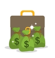Money saving and business vector image vector image