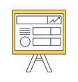 paper board vector image vector image