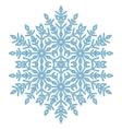 Pretty Round Snowflake vector image vector image