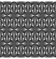 Design seamless monochrome metallic pattern vector image vector image