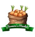 Farmerss market vector image vector image
