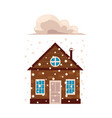 flat house insurance concept set vector image vector image