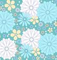 Flower pattern vector image
