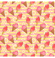 ice crea pattern vector image