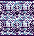 ikat ornament waves tribal pattern vector image vector image