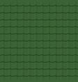 rotiles seamless pattern green shingles vector image vector image