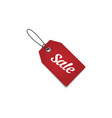 tag label sale vector image