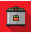 Breadmaker flat icon vector image