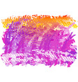 purple and orange abstract background vector image