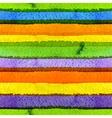 watercolor seamless stripe vector image