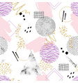 abstract contemporary seamless pattern with vector image