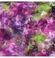 abstract modern polygonal background vector image vector image