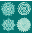 arabesque set5 vector image vector image