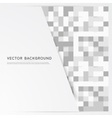 background abstract squares vector image vector image