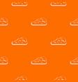cumulus cloud pattern seamless vector image vector image