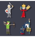 Fantasy characters vector image vector image
