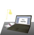 Im copywriter vector image