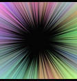 colorful geometrical abstract ray burst vector image