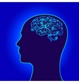 humans brain power symbols vector image