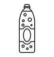 orange juice soda icon outline style vector image vector image