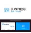 shop online market store building blue business vector image vector image