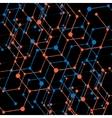 Hexagonal abstract background Eps 10 vector image