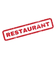 Restaurant Rubber Stamp vector image vector image