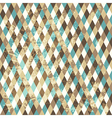 Rhombic seamless pattern Copy square to the side vector image