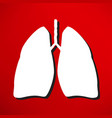 lungs - vector image