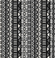 Seamless pattern with tribal ornaments for vector image
