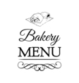 Bakery Shop Logo Template Design Element Vintage