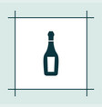 champagne icon simple drink vector image vector image