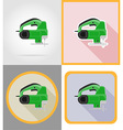 electric repair tools flat icons 01 vector image vector image