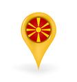 Location Macedonia vector image vector image