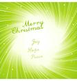 modern christmas invitation vector image vector image