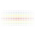 shark spectral halftone effect vector image