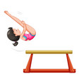 sporting activity people on white background vector image vector image