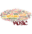 the new entertainer text background word cloud vector image vector image