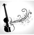classical violin isolated icon design vector image vector image