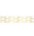 congrats faux gold foil lettering seamless vector image vector image